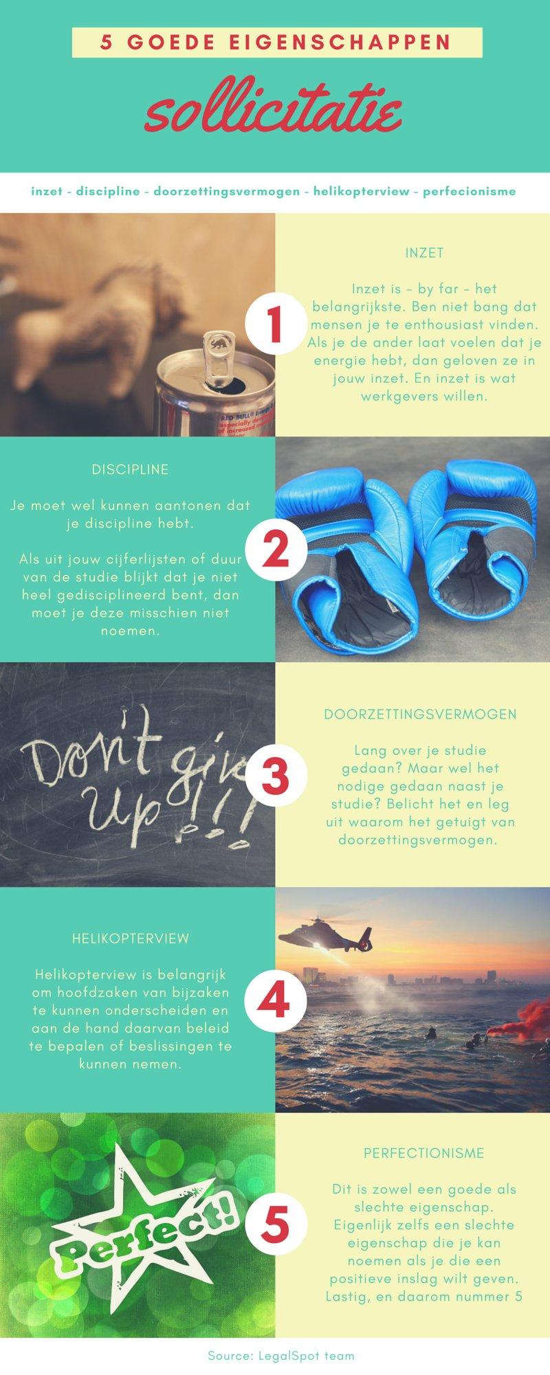 eigenschappen sollicitatie 5 goede eigenschappen sollicitatie