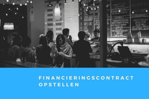 Financieringscontract en opstellen financieringscontracten