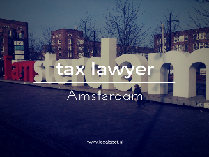 Tax lawyer Amsterdam